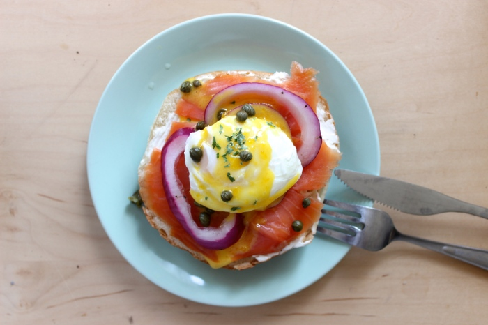 Bagel and Lox Benedict | The Scrumdili Project